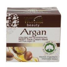 Victoria Beauty Revitalizačný a regenerujúci nočný krém - maska s arganovým olejom, 50ml