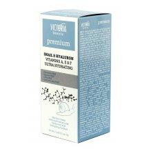 Victoria Beauty Denný krém SNAIL & HYALURON ENERGIZING COCTAIL so slimačím extraktom, 50 ml