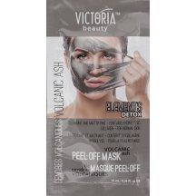 Victoria Beauty DETOX Vulcanic ASH (sopečný popol ) Zlupovacia maska s kolegénom, 10 ml