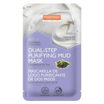 Purederm Dvojfázová čistiaca bahenná maska s morskými riasami a tea tree olejom, 13 g