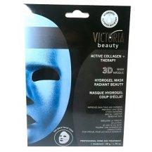 Victoria Beauty Aktívna kolagénová hydrogelová 3D maska s liftingovým efektom