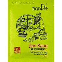 TianDE Telová bylinná náplasť Jian Kang, 5 ks