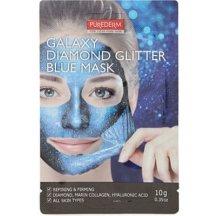Purederm Galaxy Zlupovacia maska Diamantový Lesk  modrá, 10 g