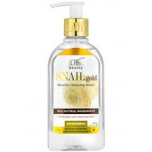 Victoria Beauty SNAIL Gold Micelárna voda so slimačím extraktom a arganovým olejom, 200 ml