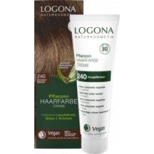 LOGONA - Bio Krémová farba na vlasy - Nugátovohnedá, 150 ml