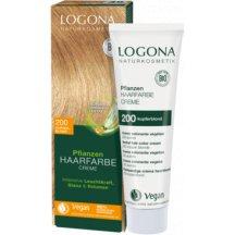 LOGONA - Bio Krémová farba na vlasy - Medená blond, 150 ml