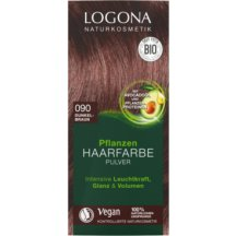 Logona - Bio Prášková farba na vlasy Dark brown, 100g