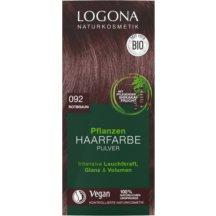 LOGONA - Bio Prášková farba na vlasy Red Brown, 100g