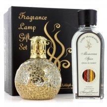 Ashleigh & Burwood Darčekové balenie Malá katalytická lampa LITTLE TRASURE s vonnou esenciou Moroccan Spice