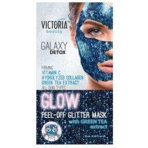 Victoria Beauty Zlupovacia maska Galaxy Detox s výťažkom zo zeleného čaju 10 ml