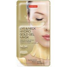 Purederm Zlatá hydrogelová maska pre očné okolie a krk