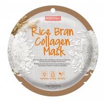Purederm Kolagénová pleťová maska s výťažkami y rýže, 18 g