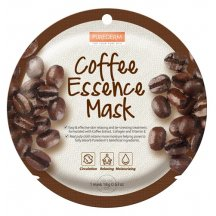 Purederm Kolagenová pleťová maska s výťažkami z kávy,18 g
