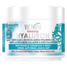 Victoria Beauty Denný a nočný krém s kyselinou hyaluronovu pre ženy od 40-55 rokov