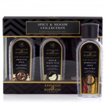 Náplne do katalytických lámp ORIENTAL SPICE, MIDNIGHT OUD a Moroccan SPICE (korenené vône) 3x180ml