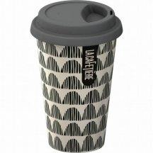 Creative Tops Cestovný hrnček porcelánový Black Buntig,290 ml