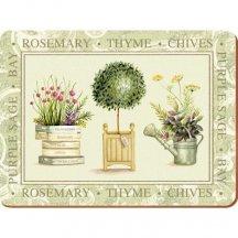 Creative Tops Korkové prestieranie Topiary, 29 x 21 cm, 6 kusov