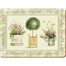 Creative Tops Korkové prestieranie, Topiary, 40 x 29 cm, 4 kusy
