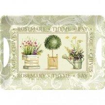 Creative Tops Melamínová servírovacia tácka Topiary, 47x33 cm