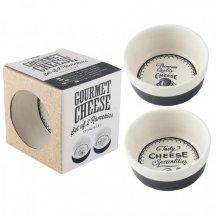 Misky na zapekanie syrov, keramické misky Gourmet Cheese
