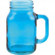 Creative Tops Sklenený džbán - modrý