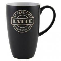 Creative Tops Porcelanová šálka na kavu - Latté čierna