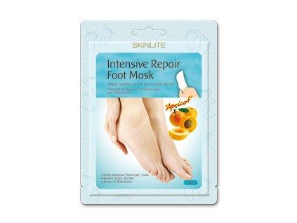Skinlite Hydratačné ponožky na nohy s bambuckým maslom