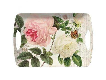 Cretive Tops Melaninová servírovacia tácka Rose Garden , 47 x 33