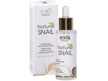 Victoria Beauty Natural Snail HYDRA - REST, protivráskové sérum so slimačím extraktom, 30ml