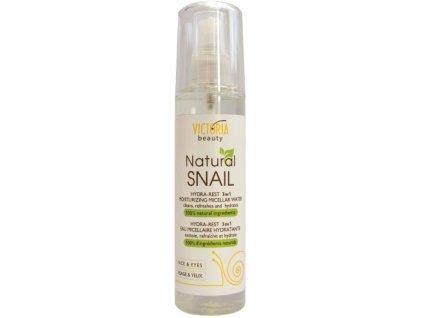 Victoria Beauty Natural Snail HYDRA - REST, Micelárna hydratačná voda , 150ml