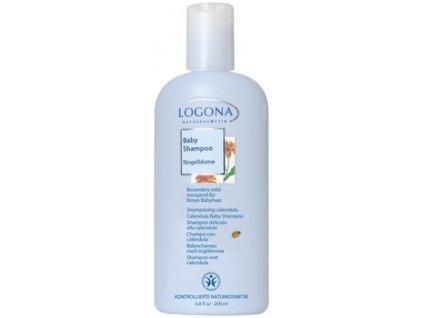 LOGONA - Detský jemný šampón Nechtík