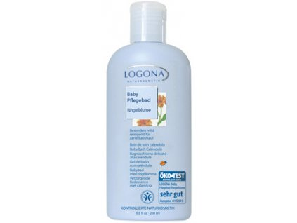 LOGONA - Detské telové mlieko Nechtík