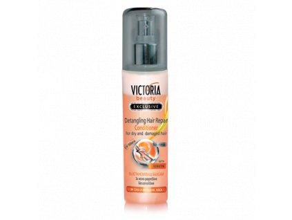 Victoria Beauty Balzam / kondicionér s keratínom pre vitalitu suchých a poškodených vlasov