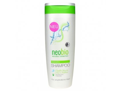 Neobio - Šampón na vlasy SENSITIVE s Bio aloe vera , 250ml