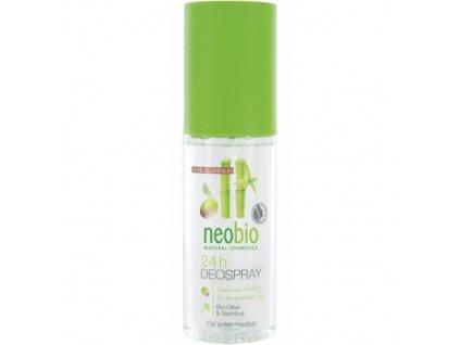 Neobio - Deo spray Bio oliva a bambus, 50ml