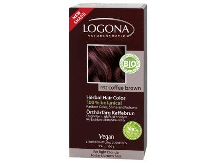 Logona - Prášková farba na vlasy –  Coffee Brown