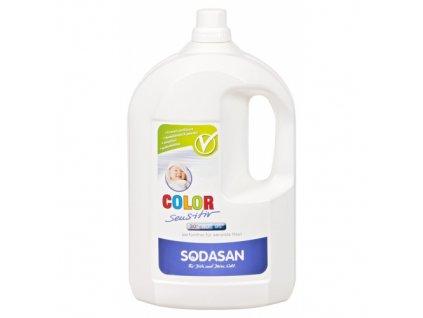 SODASAN - COLOR Sensitiv tekutý prací prostriedok na farebne prádlo bez esenciálnych olejov 4l