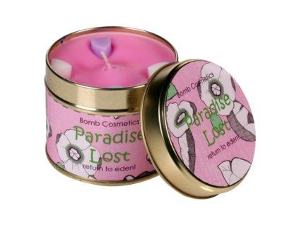 Bomb Cosmetics Sviečka Stratený raj, 35 hodín