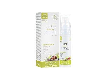 Victoria Beauty Snail Extract  Očný krém proti vráskam so slimačím extraktom, 30 ml