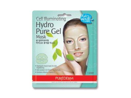 Purederm Rozjasňujúca hydrogelová pleťová maska