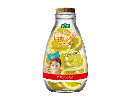 Purederm Zlupovacia pleťová maska s výťažkom z citróna, 10 ml