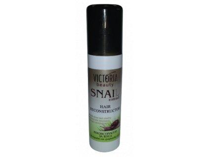 Victoria Beauty Snail extract  Krémová maska so slimačím extraktom a tekutými kryštálmi pre obnovu poškodených vlasov, 150 ml