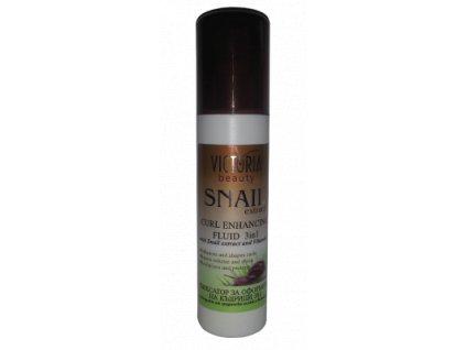 Victoria Beauty Snail Extract  Vlasový fixátor kučeravých vlasov so slimačím extraktom 3v1, 150ml