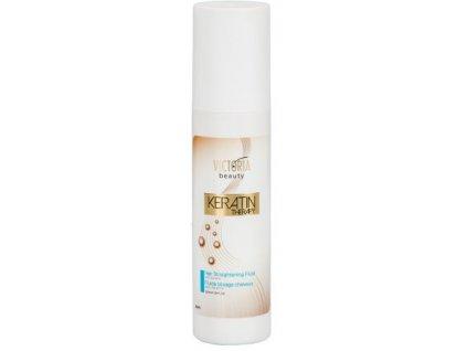 Victoria Beauty KERATIN Therapy Vlasový fluid pre rovné vlasy, 150ml