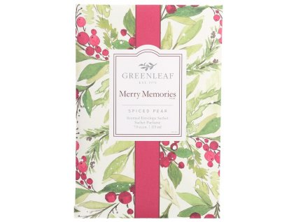 gl holiday large sachet merry memories