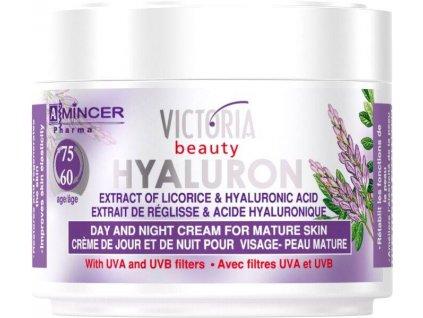 Victoria Beauty Hyaluron Denný a nočný krém pre zrelú pokožku 60+, 50 ml