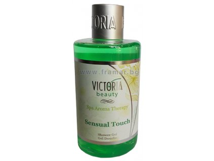 victoria beauty spa aroma therapy sensual touch shower gel
