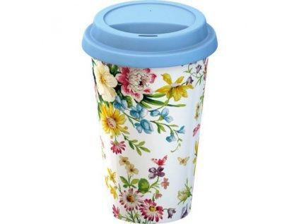Creative Tops Cestovný hrnček porcelánový English Garden, 290ml