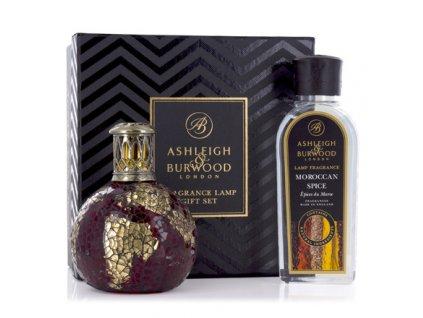 Ashleigh & Burwood Darčekové balenie Malá katalytická lampa DRAGON'S EYE  s vonnou esenciou ROSE