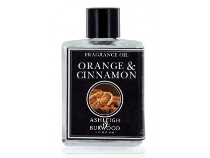 Ashleigh & Burwood Esenciálny olej ORANGE & CINNAMON  (Pomaranč a škorica) do aromalampy